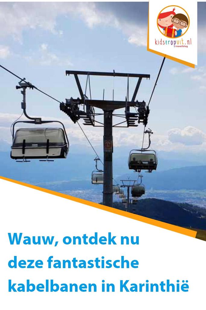 Wauw, ontdek nu onze ervaringen met drie hele toffe kabelbanen in Karinthië.