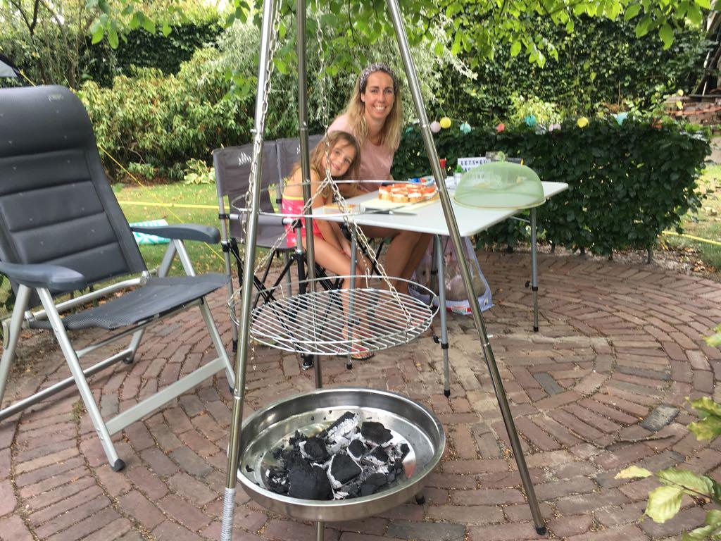 De Swing Barbecue ziet er leuk uit, maar is minder praktisch.