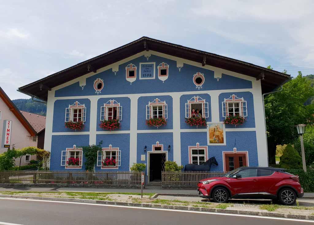 Romantikhaus Hufschmiede in Engelhartszell leukste-tussenstops-in-oostenrijk