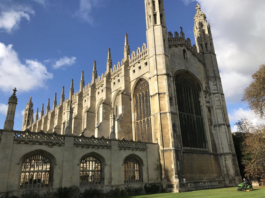 De kapel van King's College.