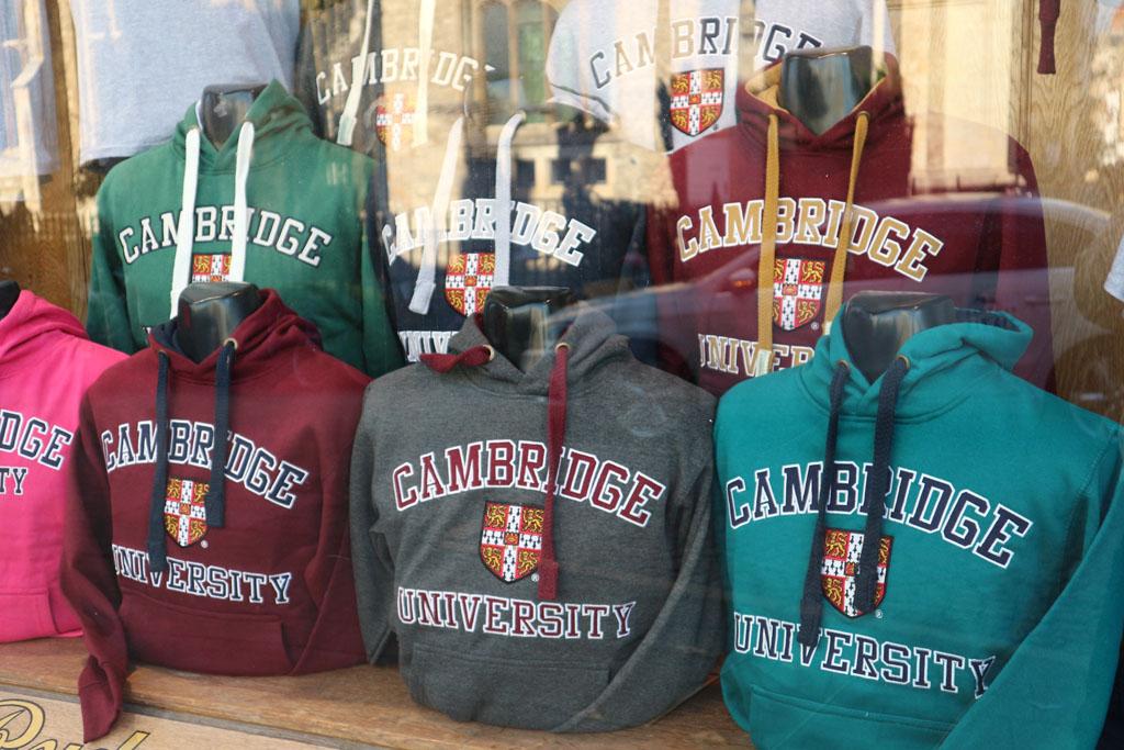 Cambridge is een universiteitsstad, dat kun je niet missen tijdens een stedentrip.