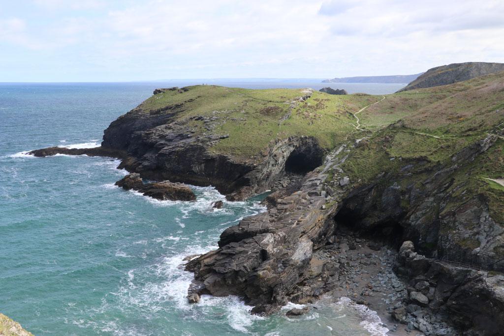 Wij krijgen geen genoeg van de mooie kliffen van Cornwall.