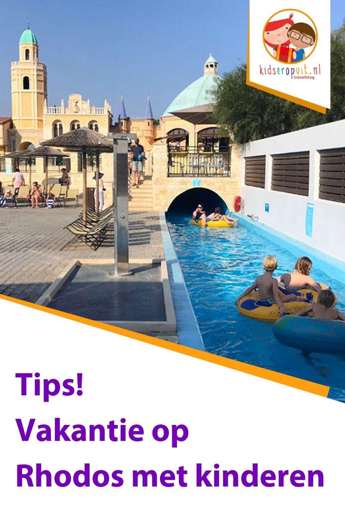 Tips voor een vakantie op Rhodos met kinderen