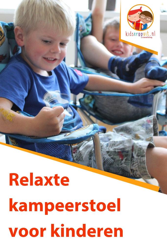 Onze ervaring met de relaxte kampeerstoel voor kinderen: de Wander Wonderstoel