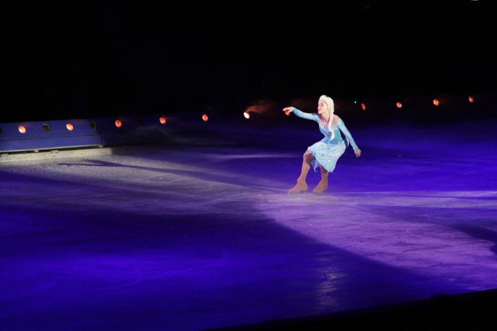 De solo van Elsa op de bekende song: 'Laat het los' is spectaculair.