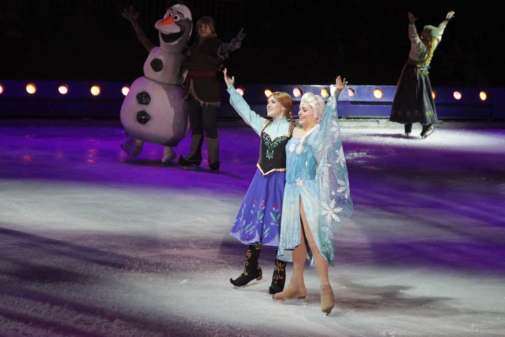 De hoofdrolspeelsters: Anna en Elsa.