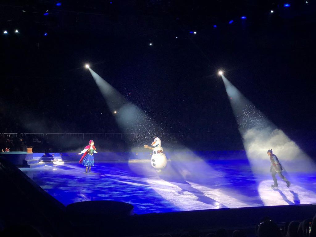 Frozen is het afsluitende sprookje, compleet met sneeuw natuurlijk.