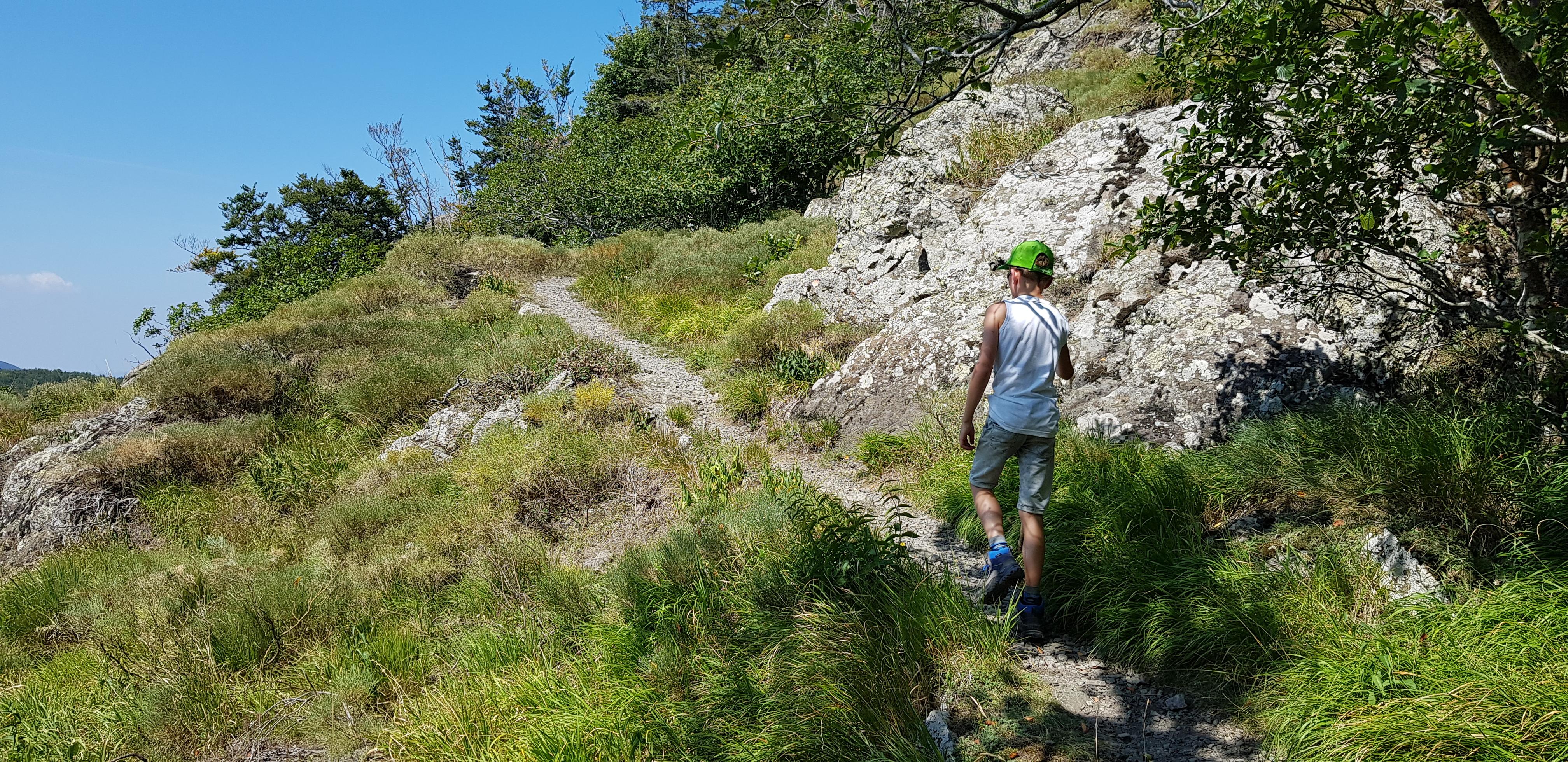 De uitgestrekte Apennijnen bieden veel wandelmogelijkheden.