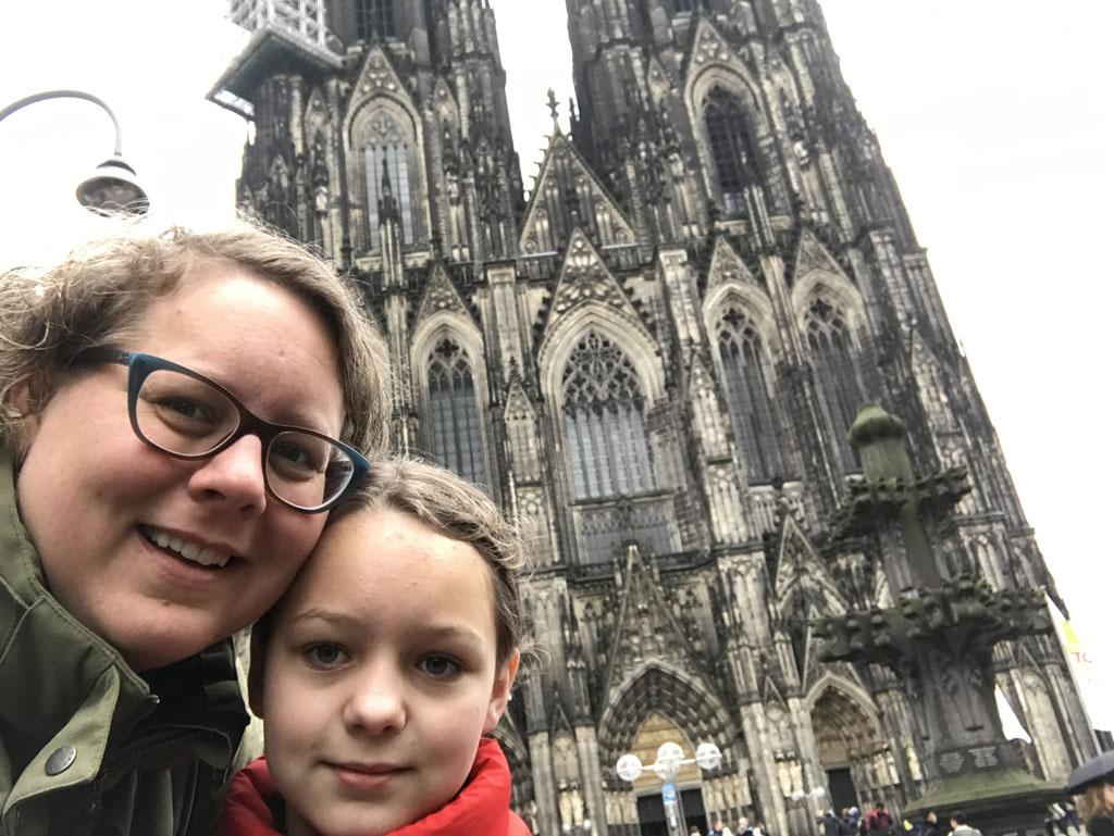Samen naar de kerstmarkt in Keulen.