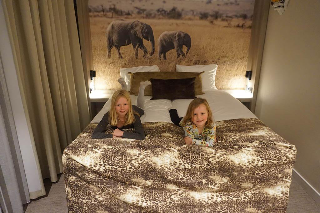 Wauw, hier willen de meisjes wel slapen