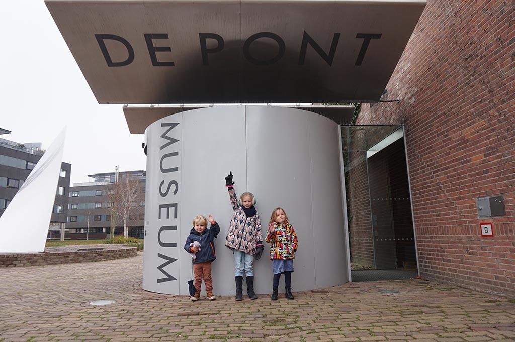 Wij bezoeken museum de Pont