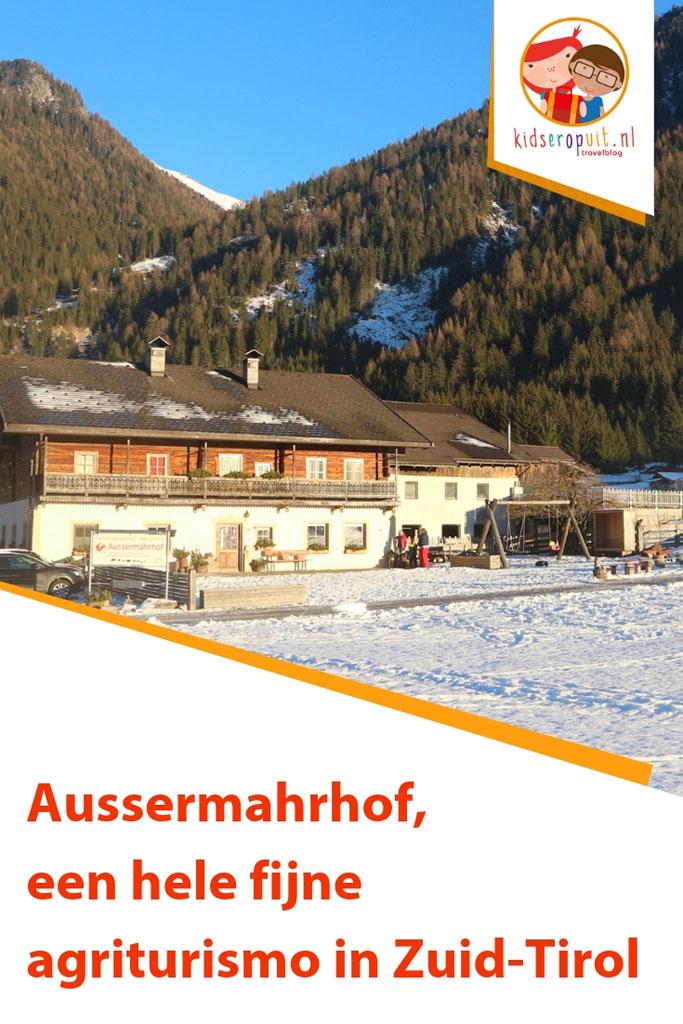 Aussermahrhof, een fantastische agriturismo in Zuid-Tirol.