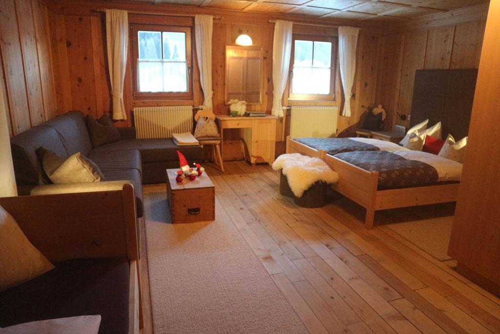 Onze kamer.
