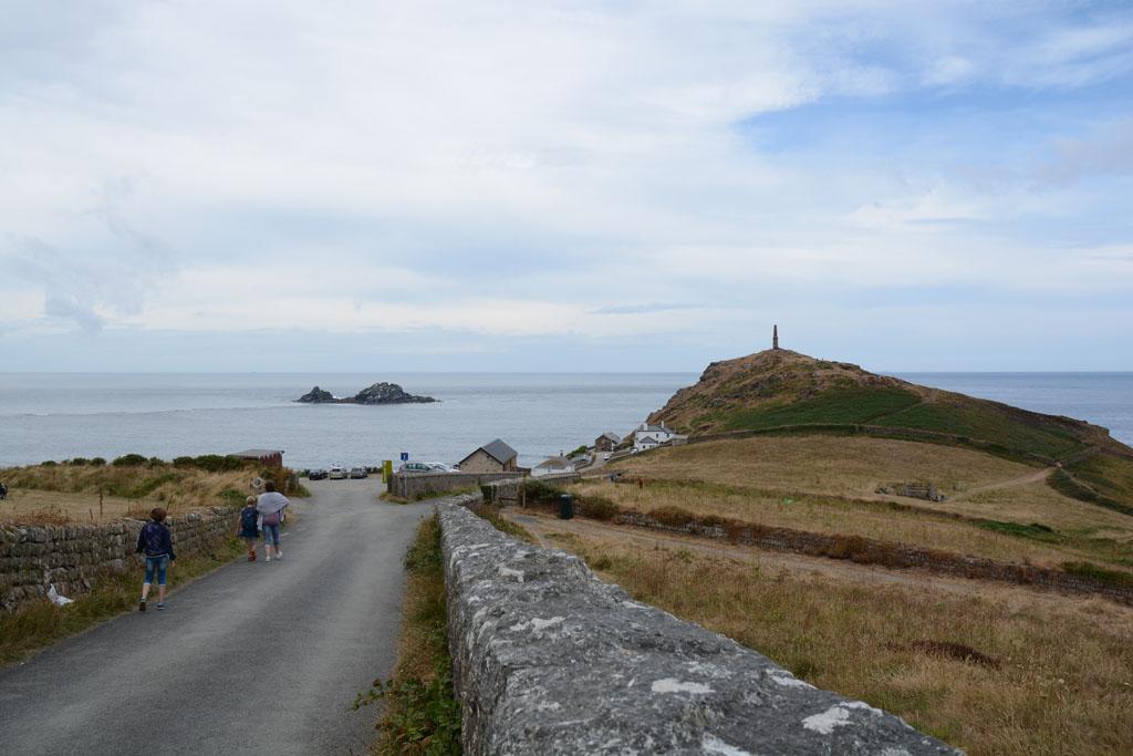 van St Just naar Cape Cornwall