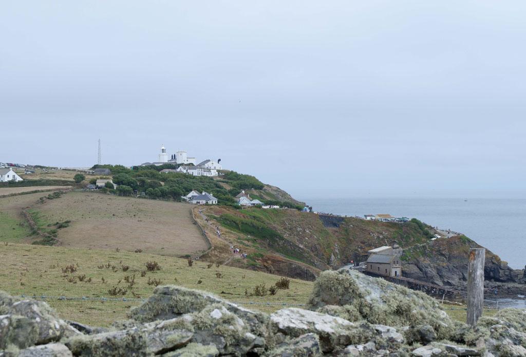 Daar in de verte ligt Lizard Point, het meest zuidelijke punt van Engeland