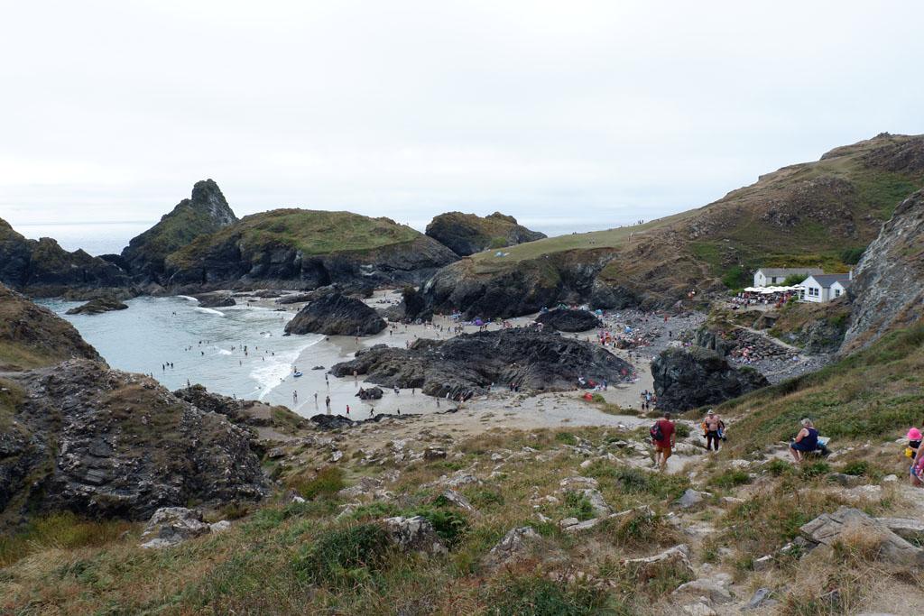 Kynance Cove is een van de meest gefotografeerde stranden van Cornwall.