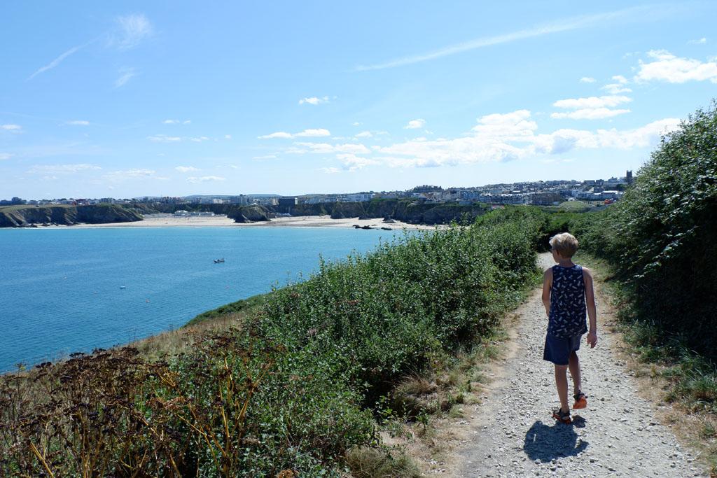 Coast path Newquay