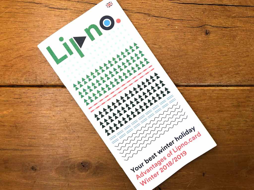 Met de Lipno Card krijg je bijvoorbeeld korting in de supermarkt. Scheelt weer.