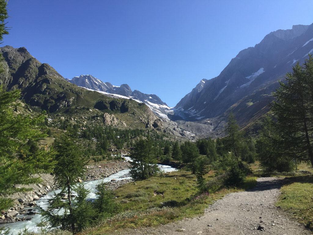 Het Lötschental, ook wel het 'dal der dalen' genoemd.