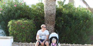 Menorca met kinderen in een buggy, dat gaat perfect!