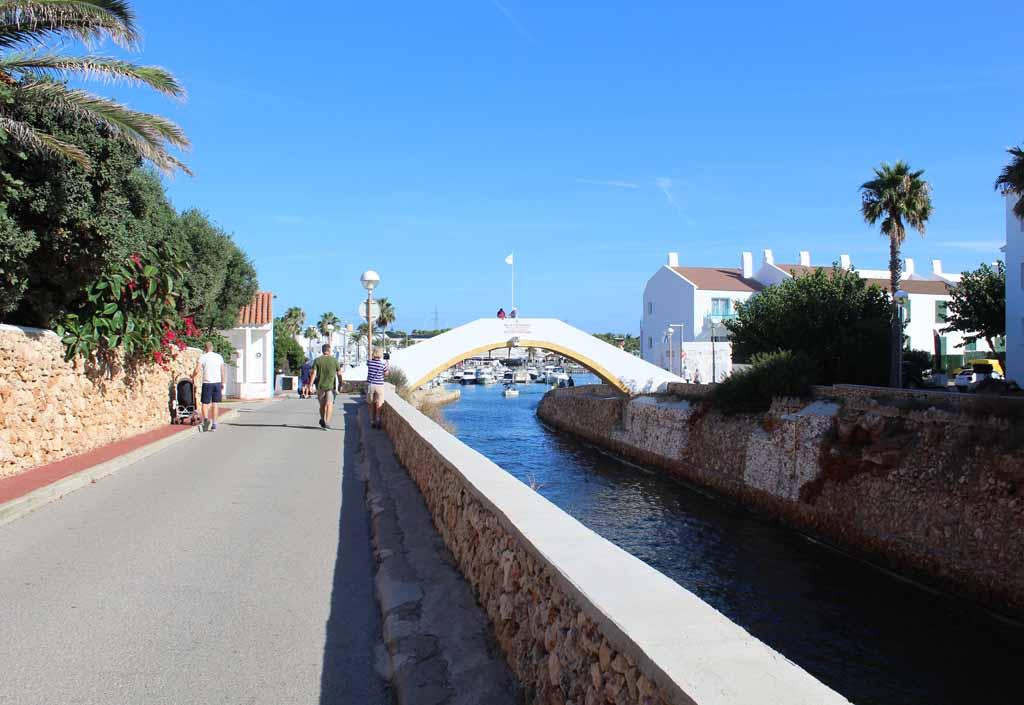 De haven van Cala'n Bosch