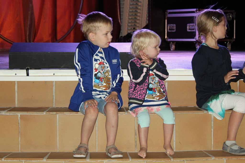 De kinderen worden zo gelukkig van de minidisco