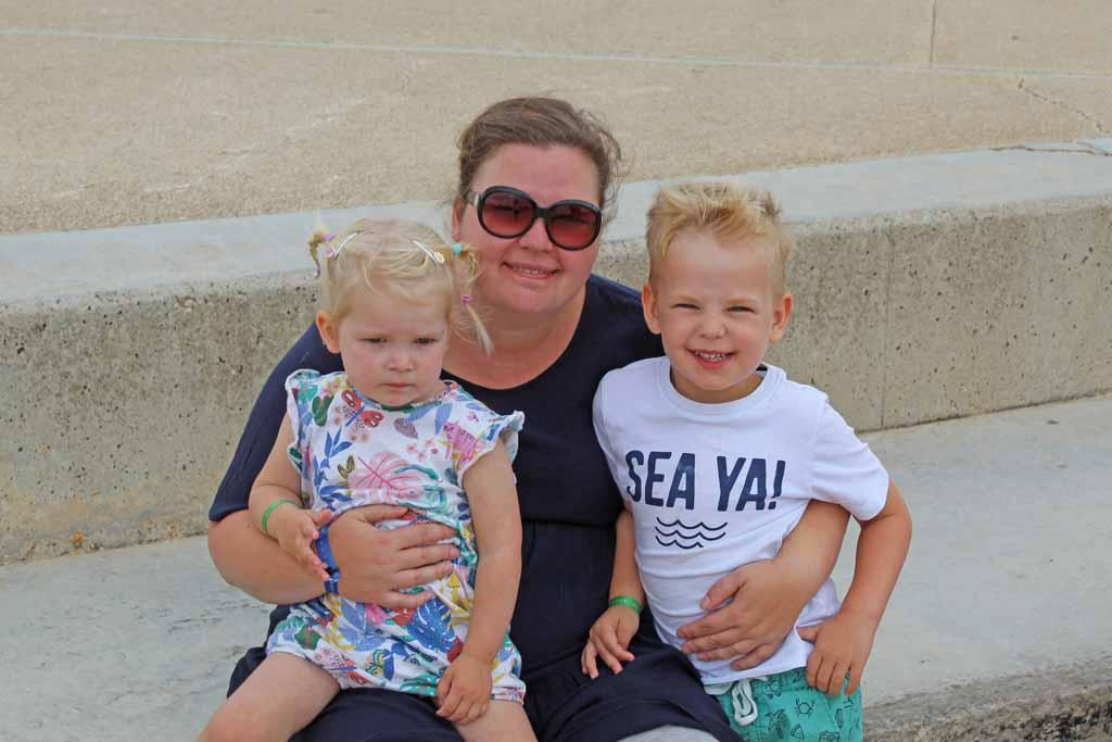 Heerlijk weer als je in de herfst Menorca met kinderen bezoekt