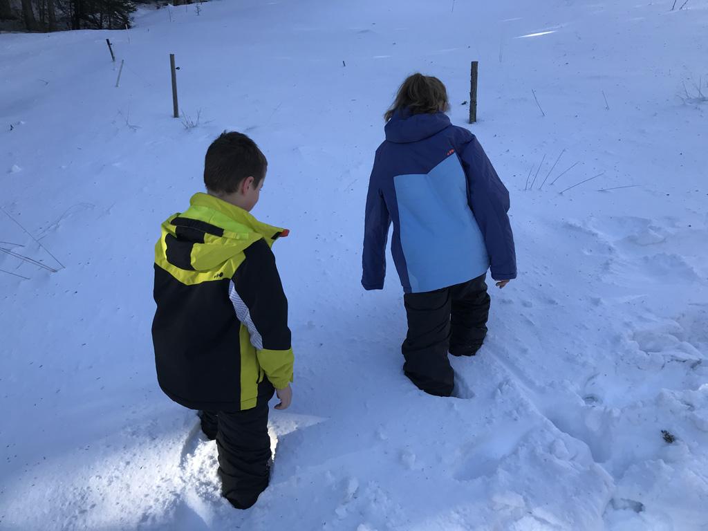 Tot boven je knie wegzakken in de sneeuw? De voeten blijven droog en warm met deze sneeuwlaarzen.