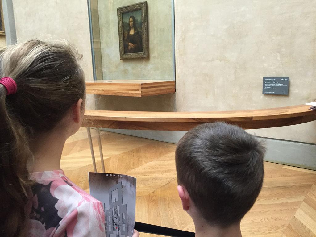 Check, Mona Lisa gezien.