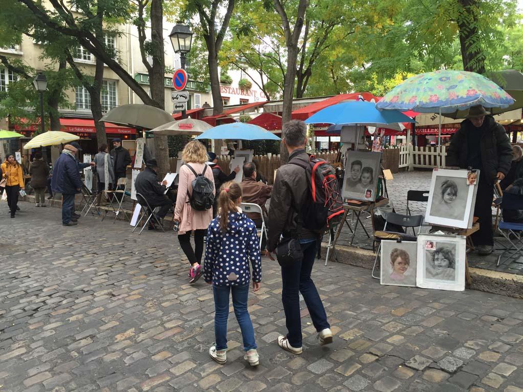 Rondje langs de kunstenaars van Montmartre.