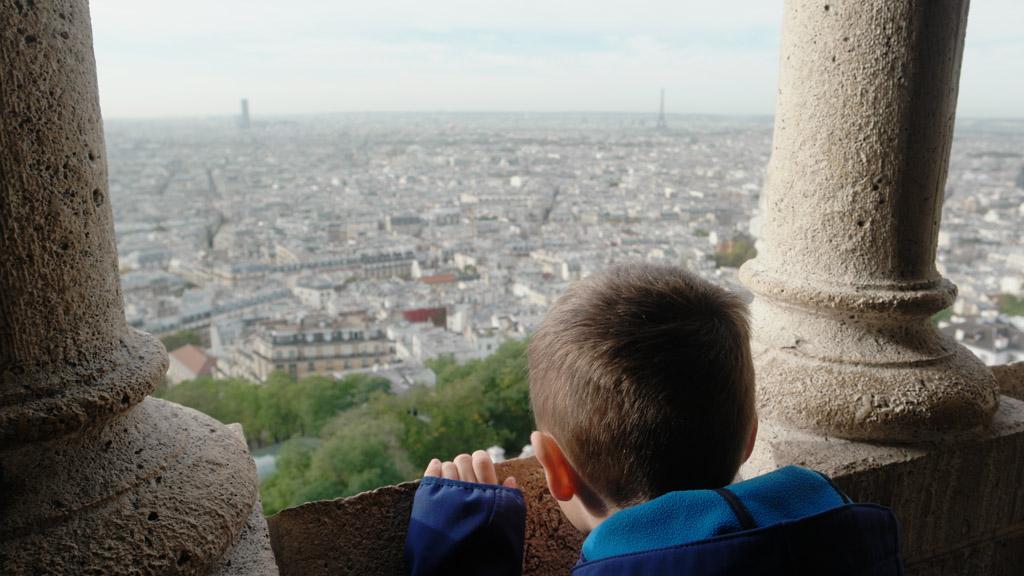 En alweer een fraai zicht op Parijs.