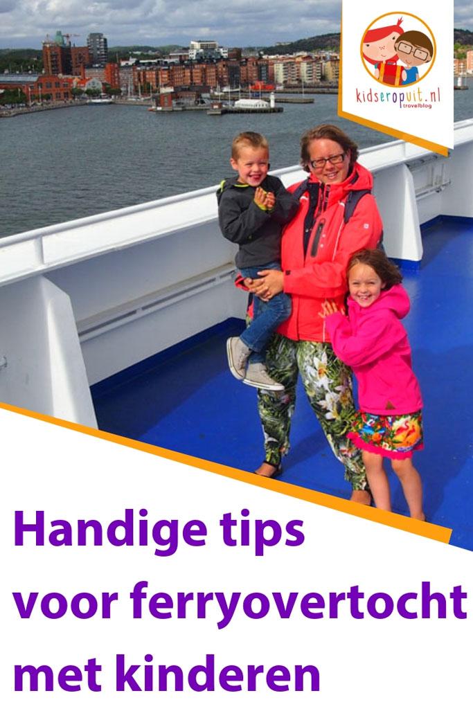 Tips reizen met ferry van Stena Line met kinderen