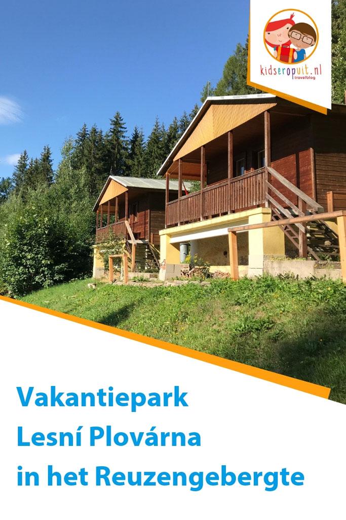Vakantiepark Lesni Plovarna in het Reuzengebergte in Tsjechië