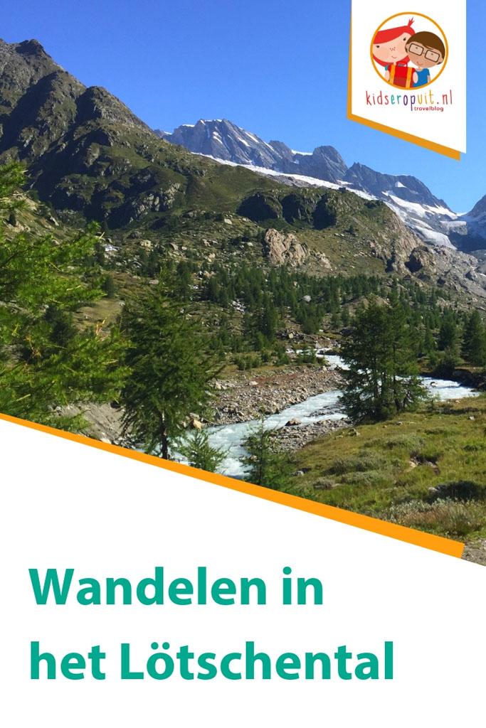 Wandelen in het Lötschental.