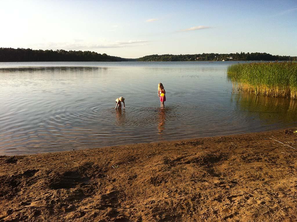 Een heerlijk dagje op een van de mooie Zweedse stranden
