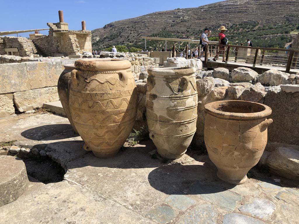 Oude potten.