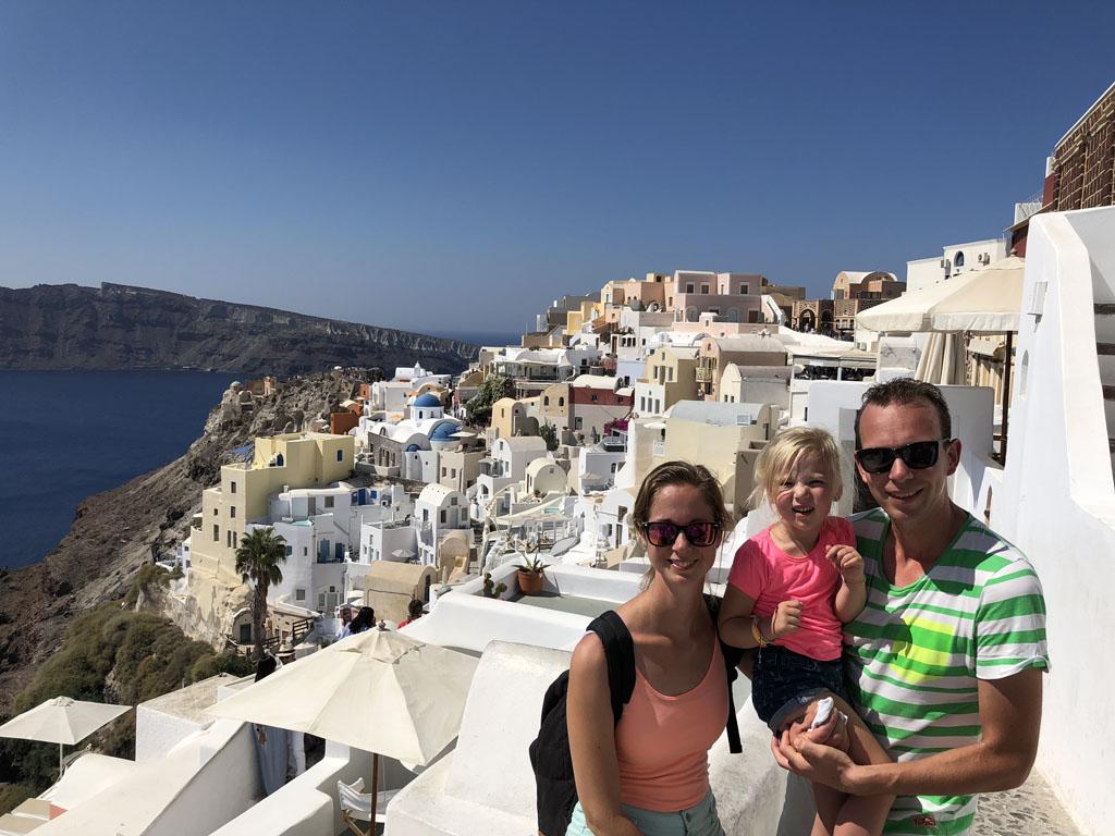 Prachtig Santorini.