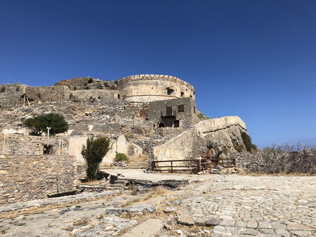 Het fort op Spinalonga.