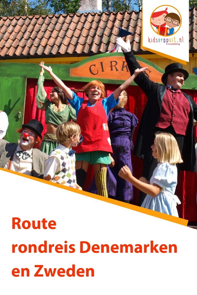 Route rondreis Denemarken en Zweden