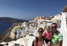 Prachtig Santorini met kinderen.