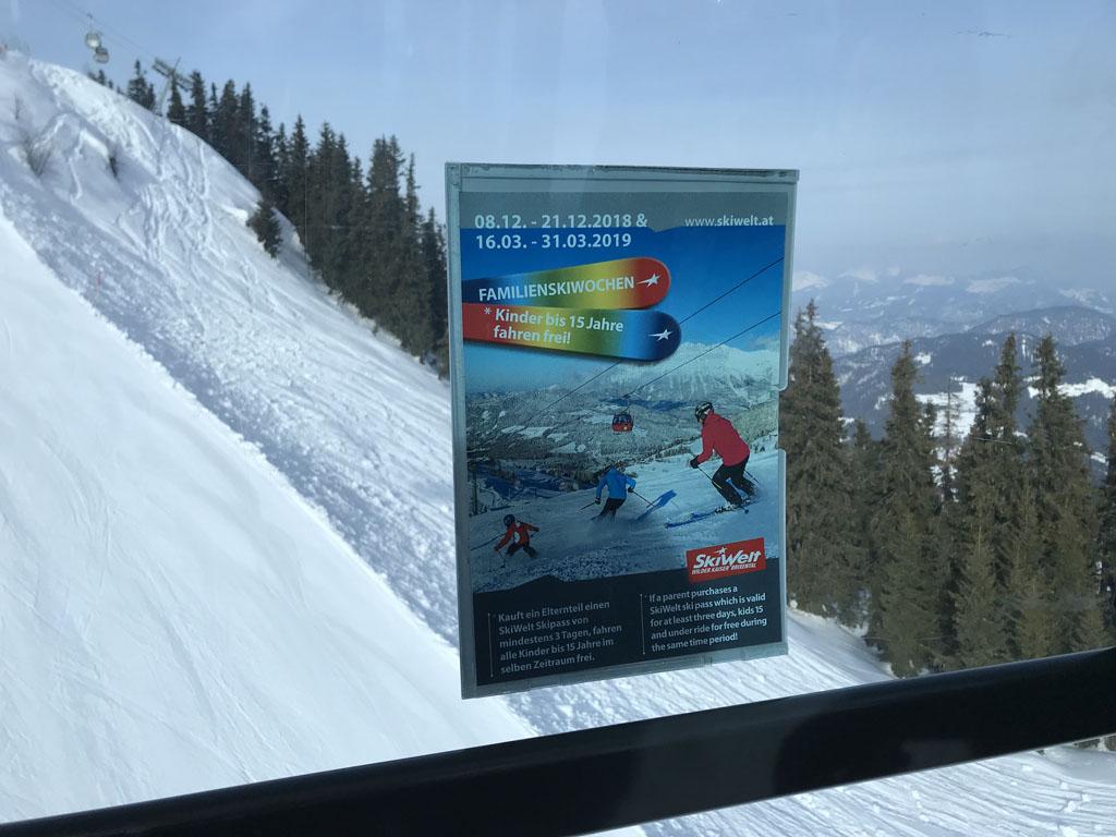 In de Wilder Kaiser zijn er speciale familie skiweken.