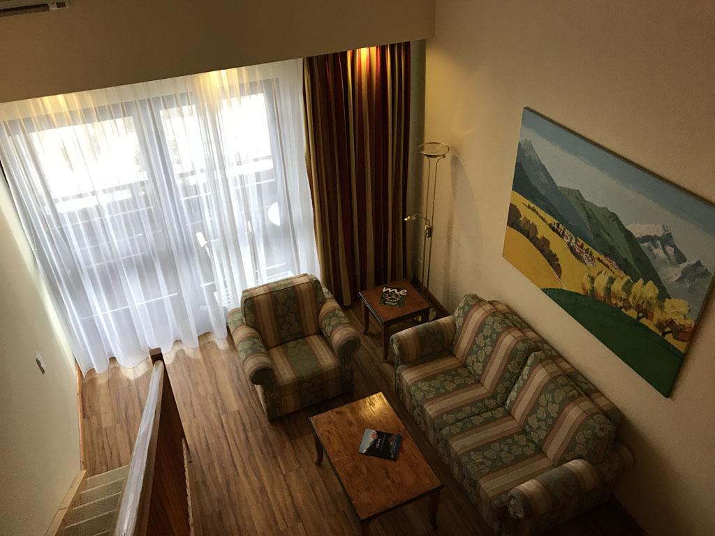 Mijn hotelkamer.