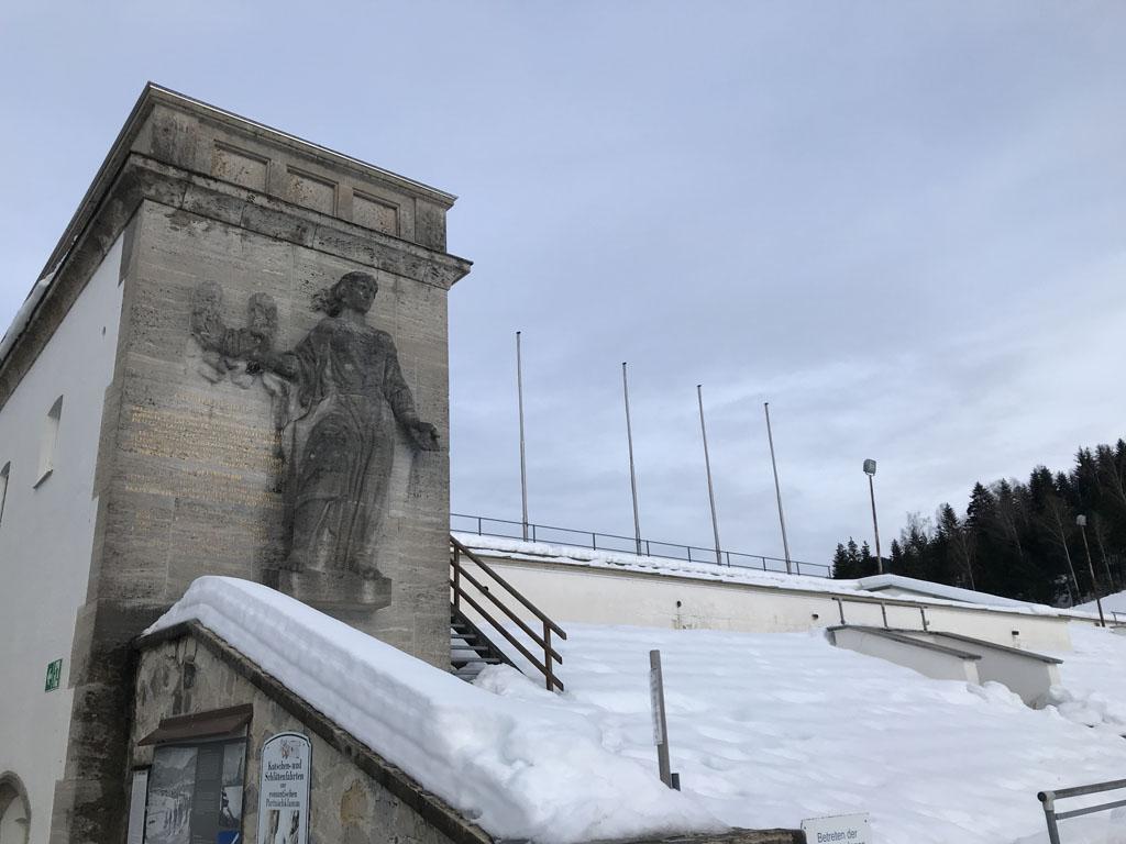 De Olympische tribune uit 1936.