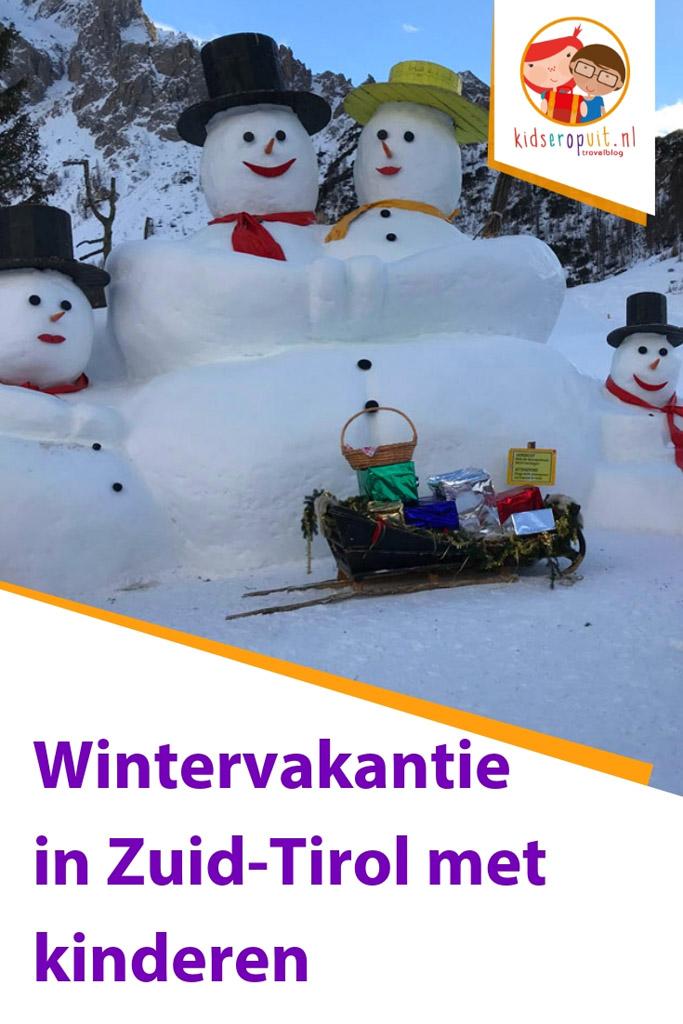 Wintervakantie in Zuid-Tirol met kinderen.