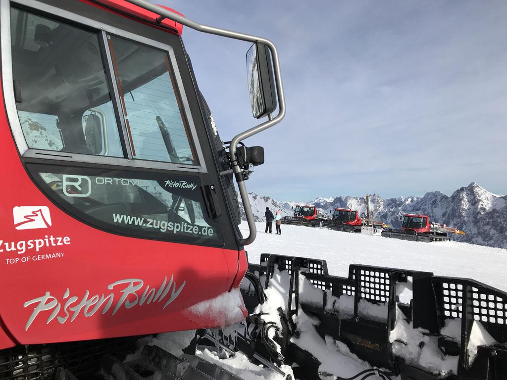 Voor de skiërs zijn er goed geprepareerde pistes.