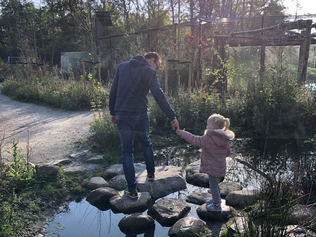 Niet alleen de dieren zijn leuk in Aqua Zoo Friesland.