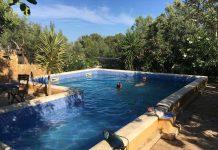 Wat een heerlijk zwembad!