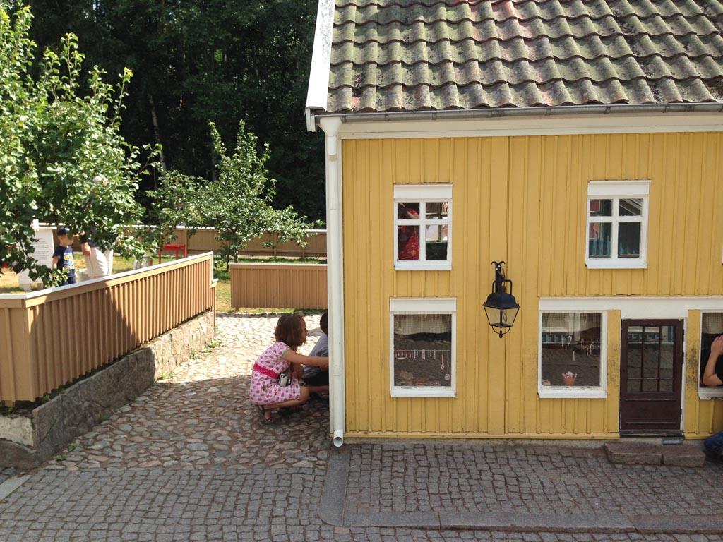 Schattige kleine huisjes.