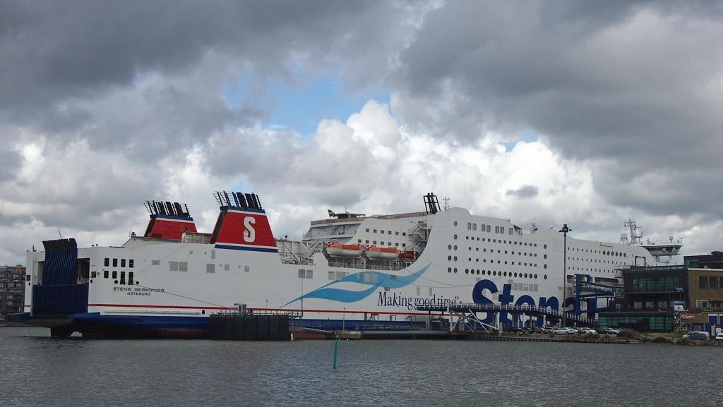 De ferry van Stena Line.