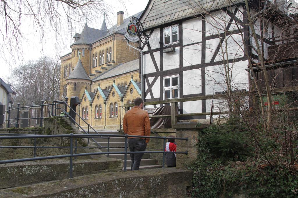 Slenteren door de straatjes van Goslar.